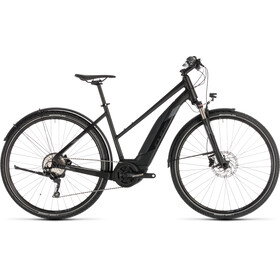 Cube Cross Hybrid EXC 500 Allroad E-crossbike Trapez sort